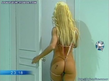 Yanina Zilly best ass ever in g-string