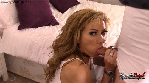Lynda Leigh - Stepson Taboo Blowjob Part 2