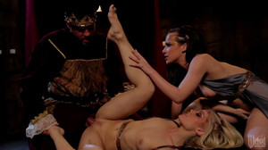Ash Hollywood, Katie St. Ives - Snow White XXX sc1, HD, 720p