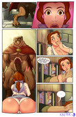 Booty and the Beast sex comic from Razter - Ongoing - 33 pages