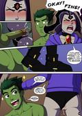 Teen titans adult comic - Incognitymous - Empathic Impasse - 18 pages