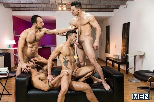 MEN – Hat Trick Part 3 (Paddy O'Brian, Andy Star, Lucas Fox & Ely Chaim)