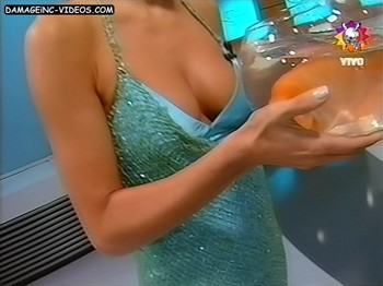 Pampita sexy boobs close up