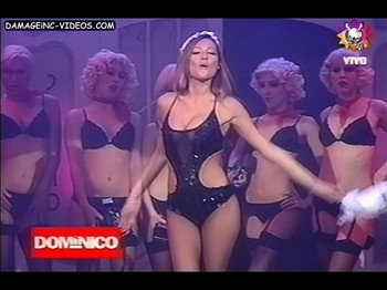 Pampita hot dance in a see through outfit