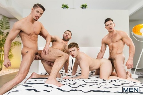 MEN – Secret Affair Part 3 (Paddy O'Brian, Gabriel Cross, Skyy Knox & Diego Reyes)