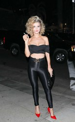 Joanna Krupa – Tequila Casamigos Annual Halloween Bash in LA 2