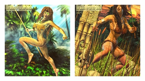 Mitru - Dada - The Jungle Babe - The Rising of Imoo (ongoing)