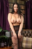 glamour babe topless nylon