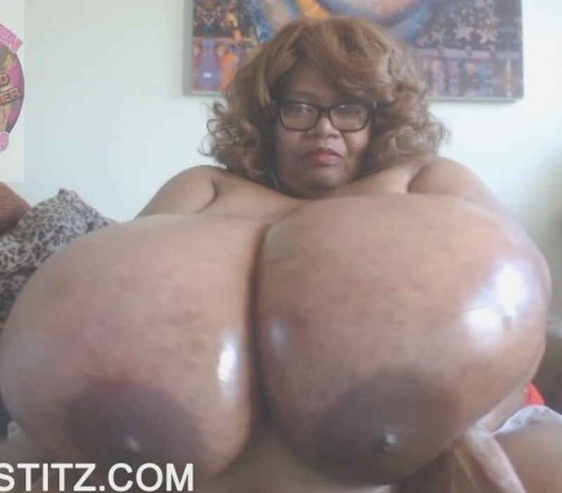 NORMA STITZ - Dirty Mouth Slut With OIL Gigantic Breasts