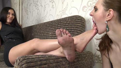 Jasmine - dirty size 10 for my slavegirl! Full HD