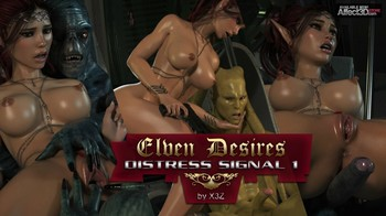 Elven Desires 13 - Distress Signal by Hitman