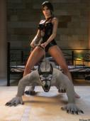 DeTomasso - Lara Fucked By Wolf
