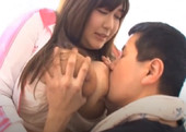 Huge Breasted Japanese GirlJerking Daddy