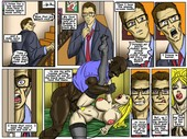 New comic by Illustratedinterracial - Neighbor's Vacation - 5 pages