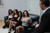 Ava Addams & Francesca Le & Vanilla DeVille & Veronica Avluv - Office 4-Play I (