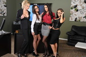 Jenna Presley & Jessica Jaymes & Julia Ann & Kirsten Price - Office 4-Play IV (p