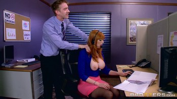 Lauren Phillips BigTitsAtWork