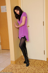 Wendy - Purple Dress