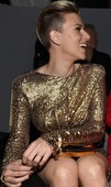 Scarlett Johansson Descuido Upskirt