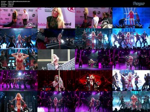 Britney Spears Video Alfombra Roja y Actuación En Los Billboard Music Awards En Las Vegas 2016