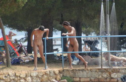 Croatia nudist family