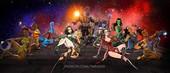 Andrew Tarusov - Infinity War Pin-Up - Avengers