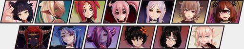 Redamz - Monster Girl Island 12 builds + VR 9 builds