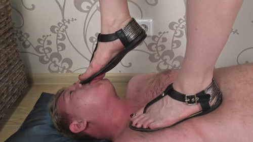 Helen - sandals trampling Full HD