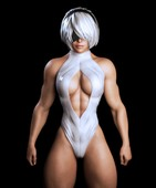 Nivilis - 3D Collection With Muscular Babes