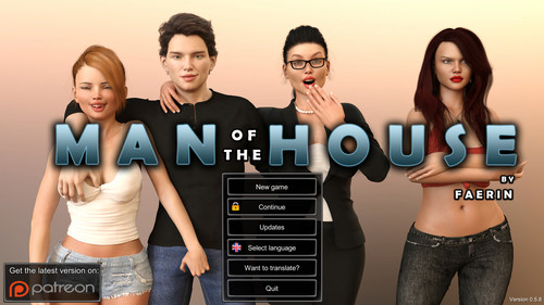 Faerin - Man of the House - Version 0.7.7 Extra + Incest Patch + Walkthrough + Saves + Mod + CG