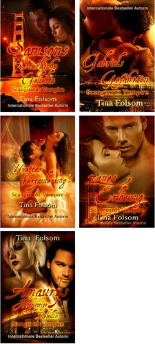 Scanguards Vampire 1-5 (Folsom, Tina) German Erotic eBooks  Cover